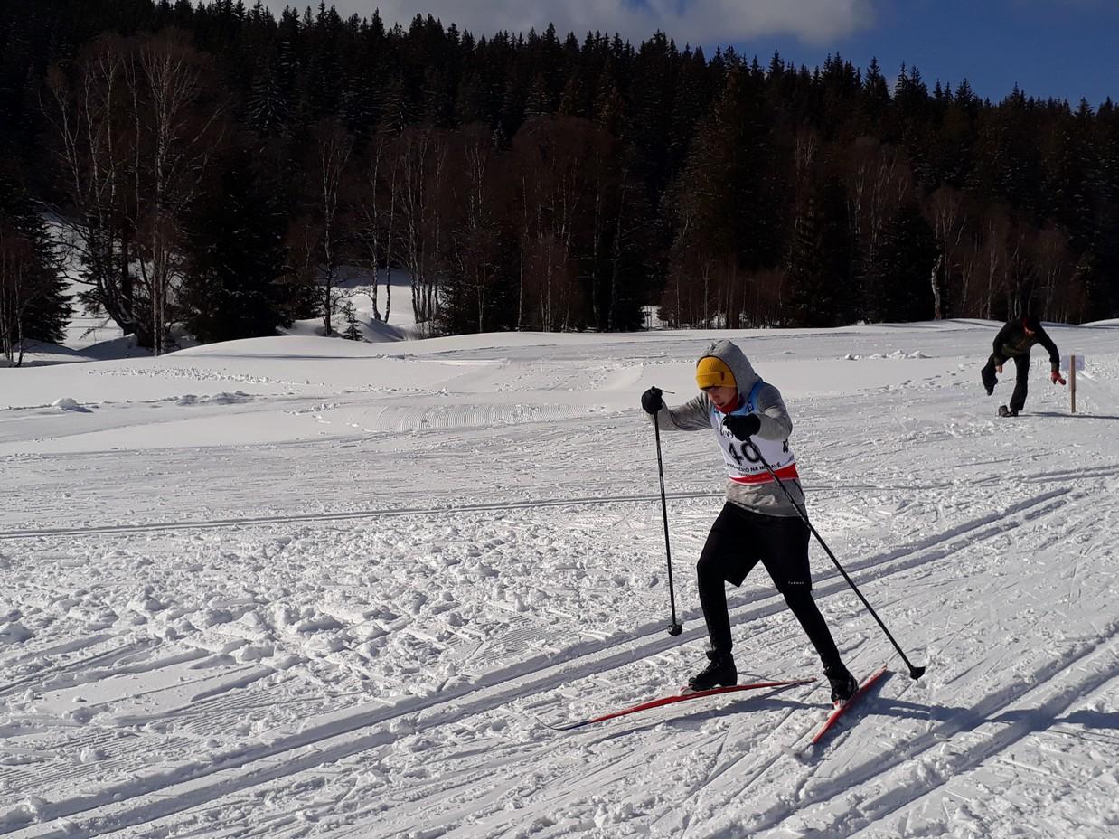 Zimní olympiáda na Kvildě
